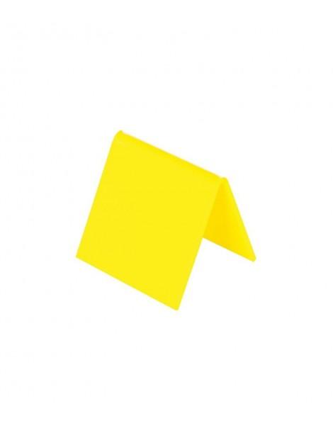 Numeración Mesa Amarillo
