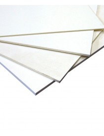 Planchas de PVC espumado blanco