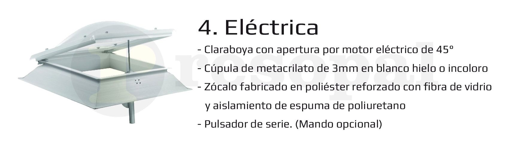 Claraboya Eléctrica