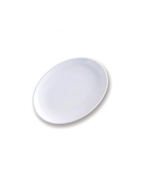 Plato blanco para pizza