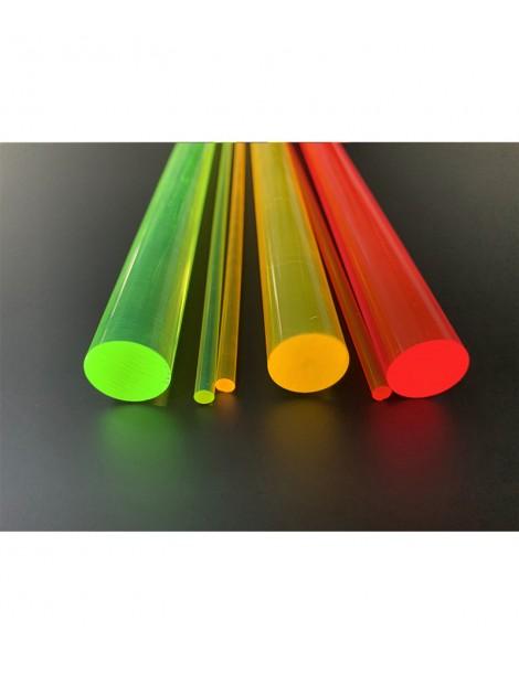 Barras de Metacrilato en colores fluor - Varios colores