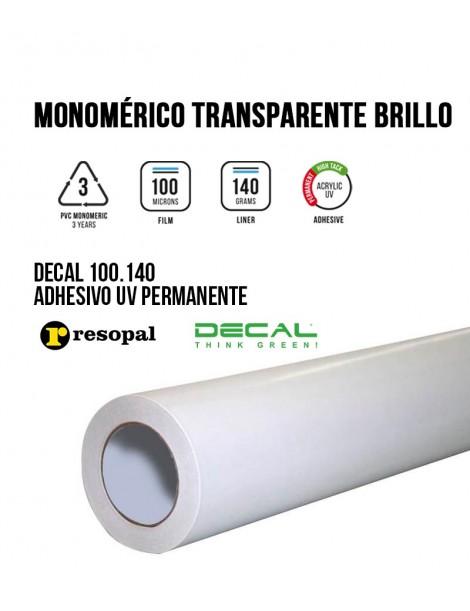 Vinilo de impresión monomérico con adhesivo UV permanente