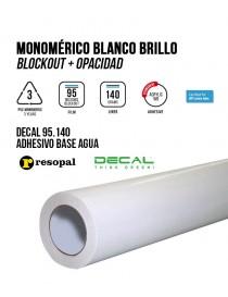 Vinilo de impresión monomérico base agua permanente Blockout