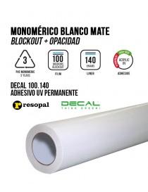 Vinilo de impresión monomérico adhesivo UV Blockout