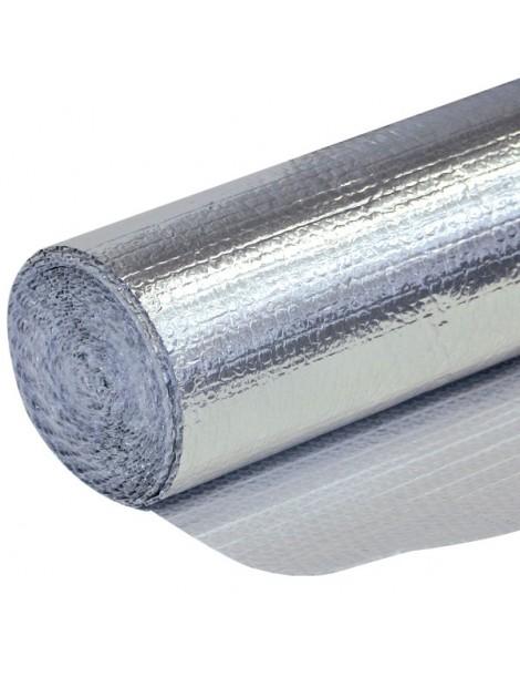 Rollo de burbuja metalizada isotérmica