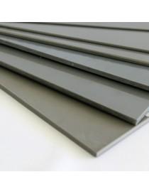 Plancha de PVC compacto gris