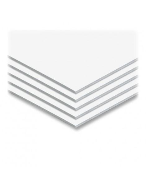 Plancha de PVC compacto blanco