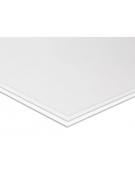 Plancha de PVC transparente