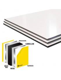 Planchas de aluminio ResoLite Blanco