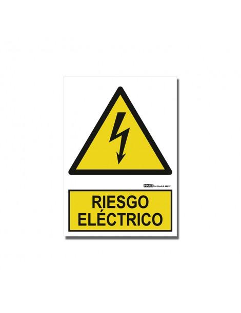 """Señal """"Riesgo Eléctrico"""""""