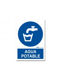 "Señal ""Agua potable"""