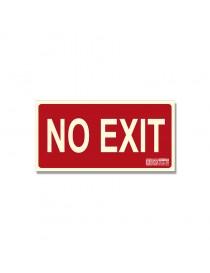 """Señal """"No exit"""" con borde Clase B"""
