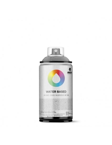 Spray de barniz mate con base agua