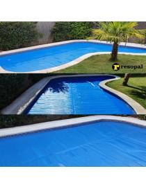 Burbuja térmica para piscinas