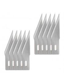 Pack 10 cuhillas de recambio para cutter de precisión