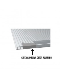 Cinta adhesiva ciega de aluminio