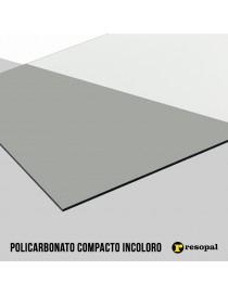 Planchas de policarbonato compacto 2UV para exterior