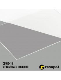 Planchas de metacrilato transparente Covid