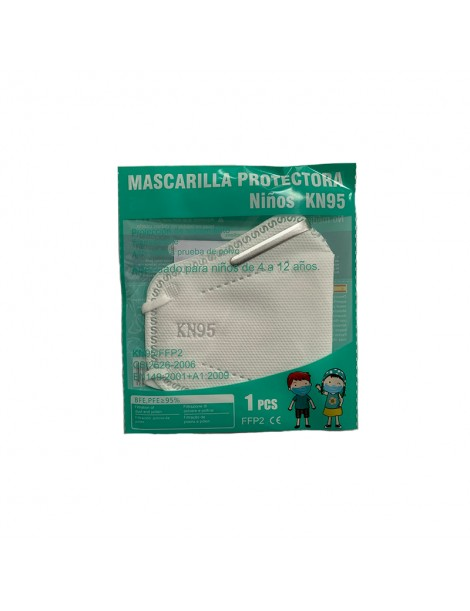Mascarilla Protectora Infantil KN95