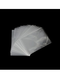Bolsas de polietileno finas transparentes 100 unidades