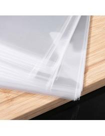 Paquete de bolsas de polietileno transparente
