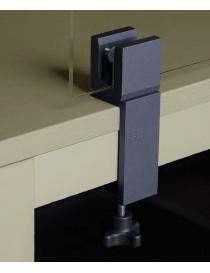 Soporte de aluminio para mamparas protectoras