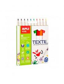 Pack rotuladores infantiles para textil