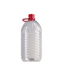 Garrafa transparente para agua o aceite 5L
