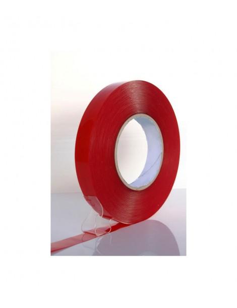Cinta adhesiva de doble cara de espuma transparente 6610