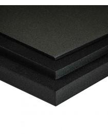 Planchas de PVC espumado negro