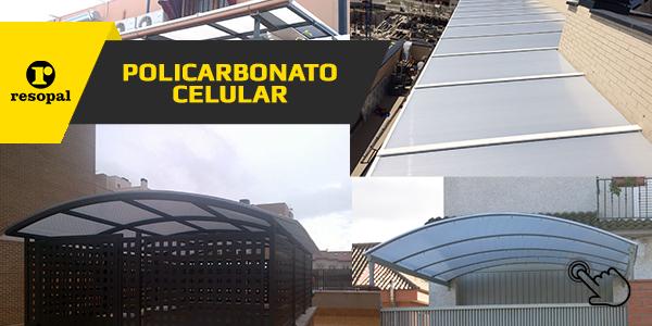 Planchas Poilcarbonato Celular