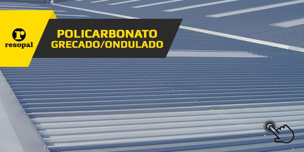 Planchas Poilcarbonato Grecado - Ondulado